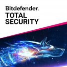 Bitdefender Total Security 2021 180 DAYS 5 device. ONLY IN A NEW ACCOUNT