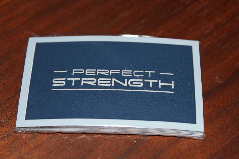 Avon Men's Fragrance Perfect Strength Samples