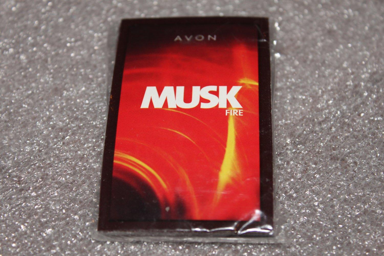 Avon Musk Fire Men's Fragance Samples