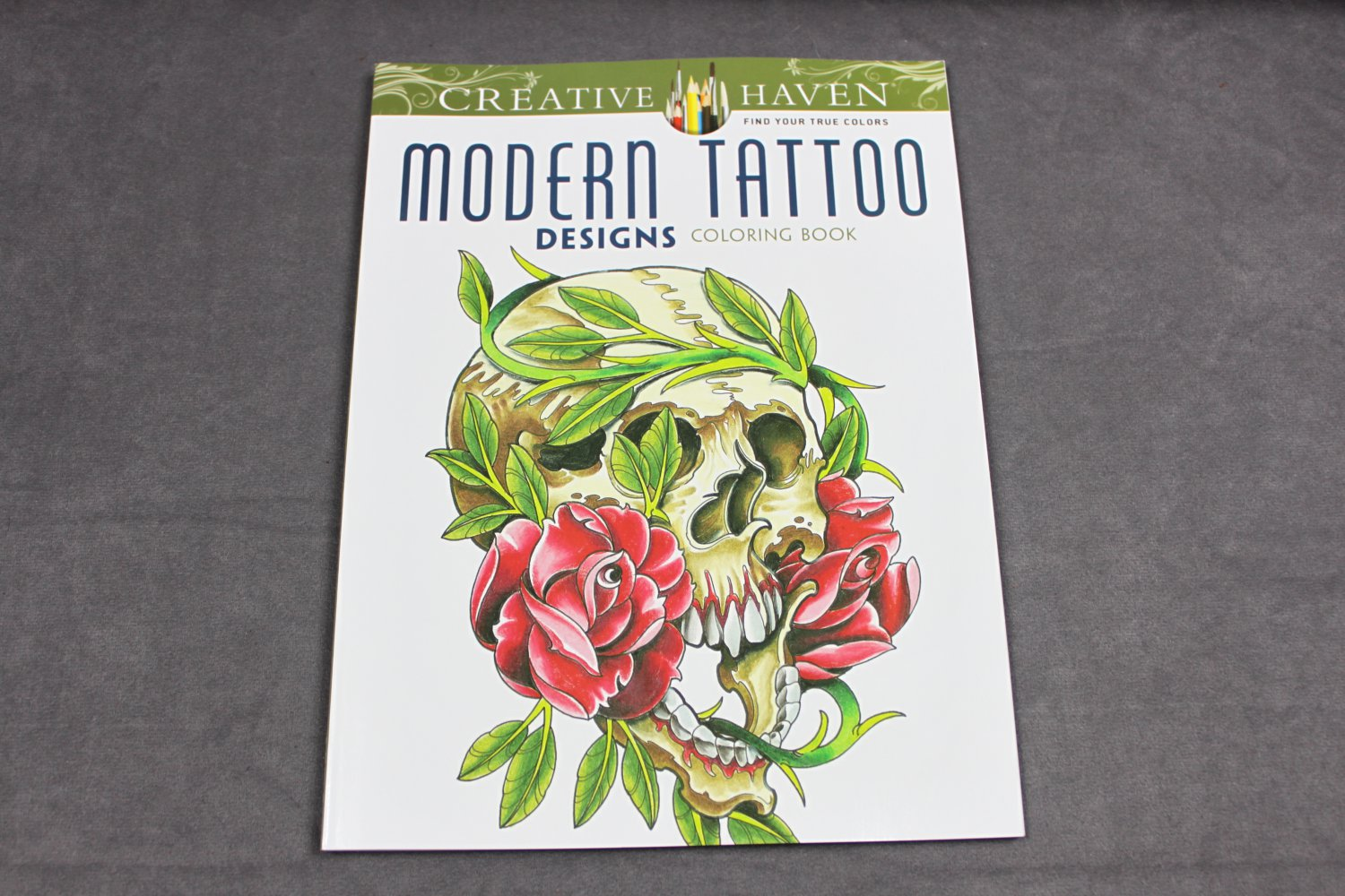 Creative Haven Modern Tattoo Designs Coloring Book Dover Adult Coloring