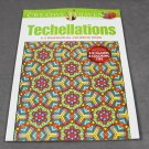 Creative Haven Techellations - 3-Dimensional includes 3D Glasses Dover Adult Coloring