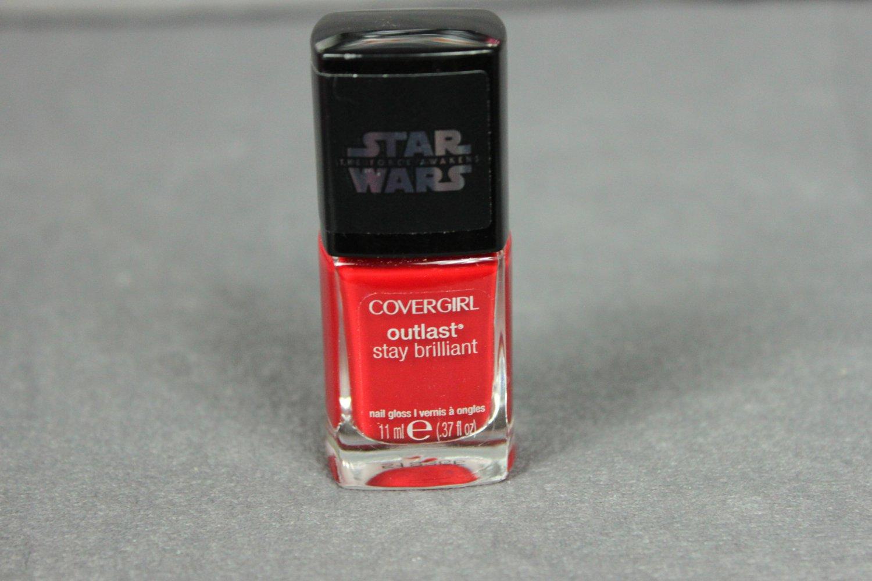 CoverGirl Nail Polish Outlast Stay Brilliant RED REVENGE Nail Gloss
