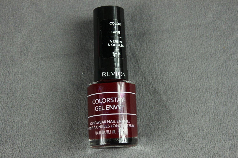 Revlon Colorstay Gel Envy Nail Enamel #600 QUEEN OF HEARTS Nail Polish