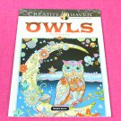 Creative Haven OWLS Dover Adult Coloring Book