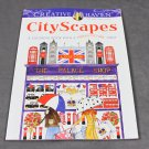 Creative Haven City Scapes - Adult Coloring Book with a Hidden Picture Twist Dover