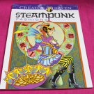 Creative Haven Steampunk Fashions Dover Adult Coloring Book