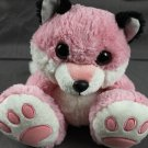 Pink Fox Raccoon Plush Stuffed Animal