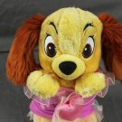 Disney Baby Lady Dog Plush Stuffed Animal