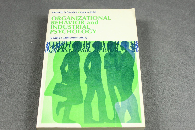 Organizational Behavior and Industrial Psychology