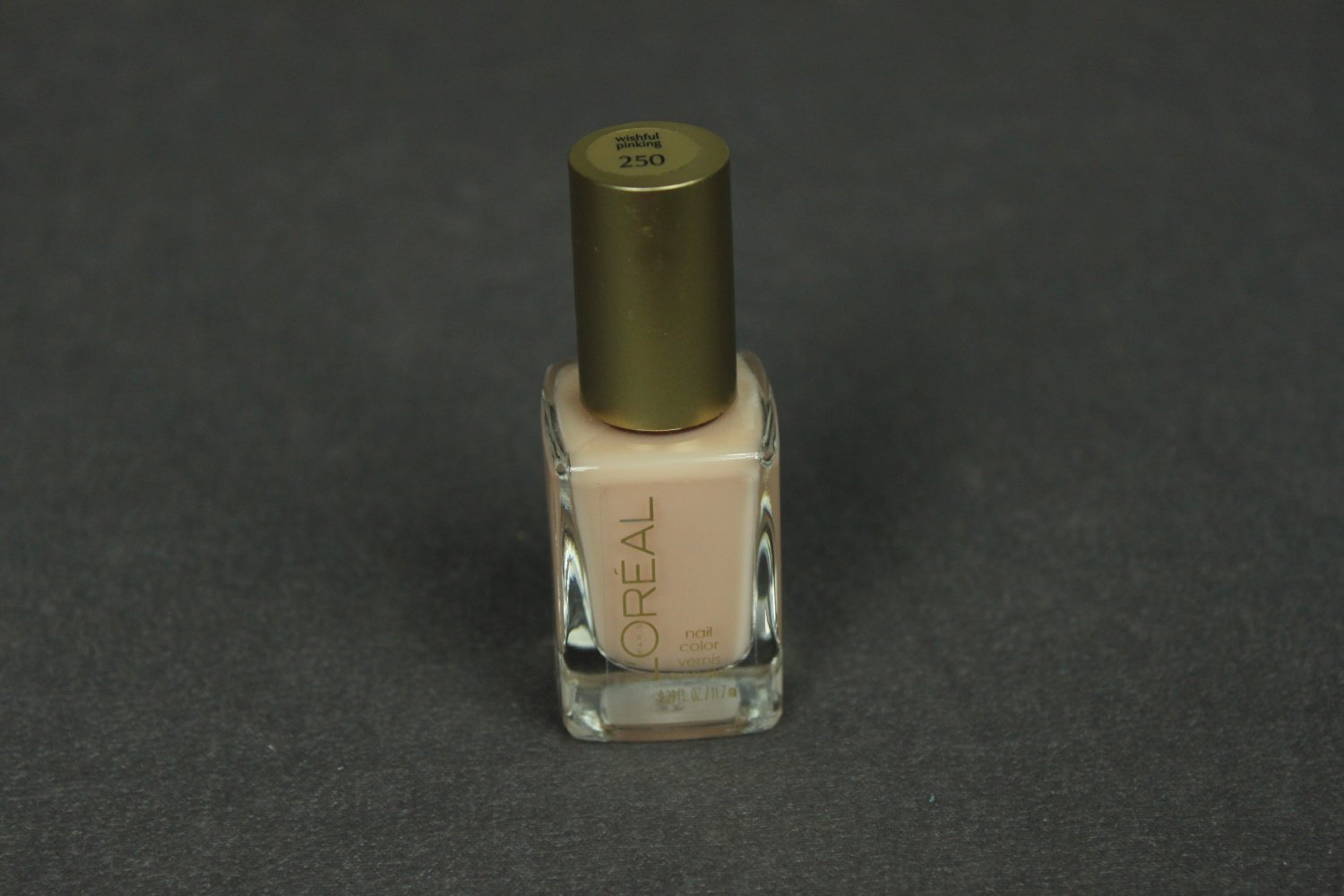 Loreal WISHFUL PINKING Nail Polish #250