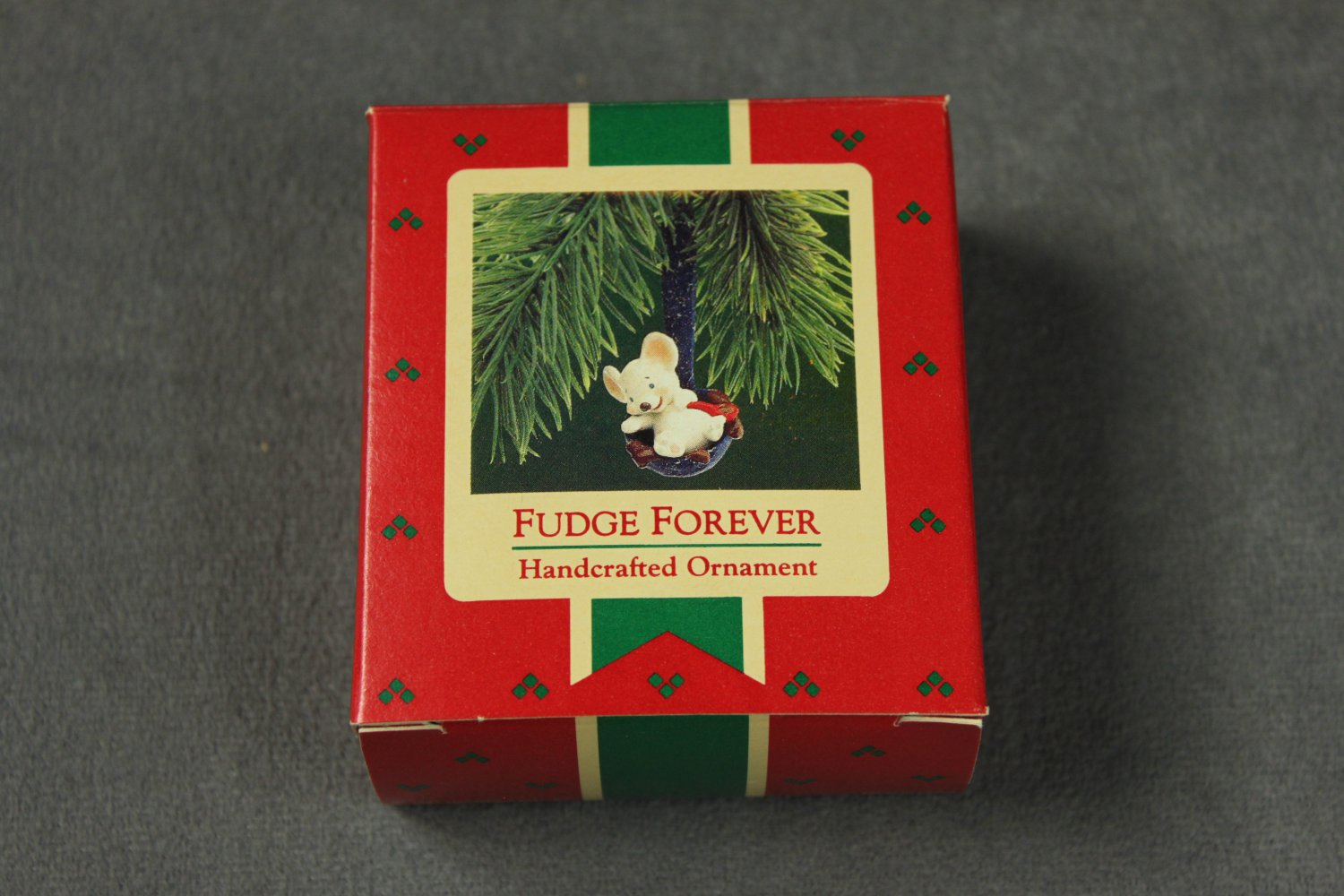 Fudge Forever Hallmark Ornament