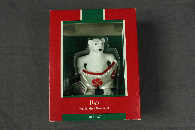 Dad Hallmark Ornament 1989