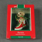 Brother Hallmark Ornament 1989