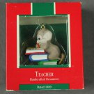 Teacher Hallmark Ornament 1989 Box Damaged