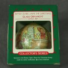 Betsey Clark Home for Christmas Glass Hallmark Ornament 1987