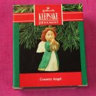 Country Angel Hallmark Keepsake Ornament 1990