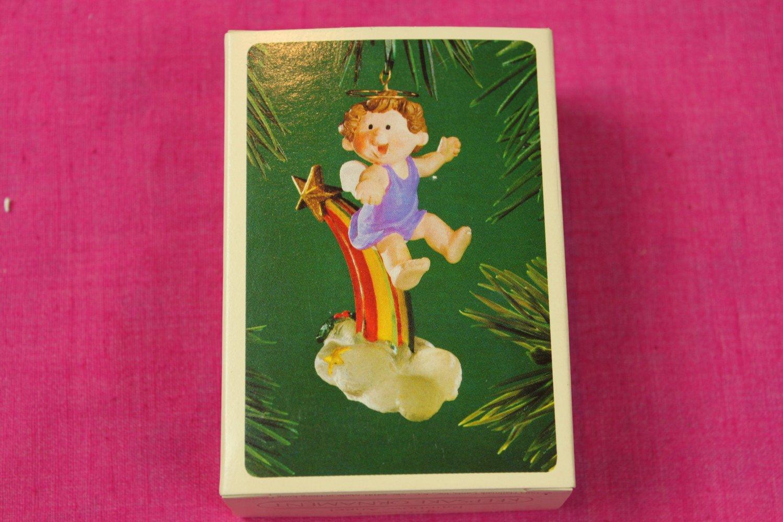 Rainbow Angel Hallmark Keepsake Ornament 1983