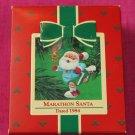 Marathon Santa Hallmark Keepsake Ornament 1984