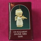 Enesco Precious Moments Oh Holy Night Ornament Special 1989 Issue