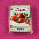 Scentsationals Poteet Strawberry Wax Melt Cubes Special Texas Edition
