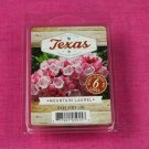 Scentsationals Mountain Laurel Wax Melt Cubes Special Texas Edition