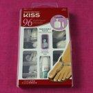 Kiss Full-Cover Toenails Pack of 96 Short Length Toe Nails
