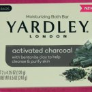 Yardley of London Soap Activated Charcoal 8 Pack