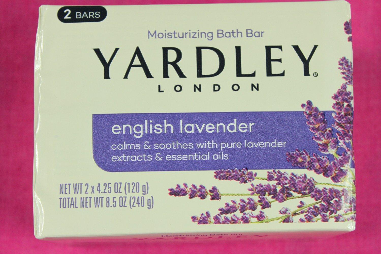 Yardley of London Soap English Lavender 8 Pack
