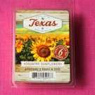 Scentsationals Country Sunflower Wax Melt Cubes Special Texas Edition