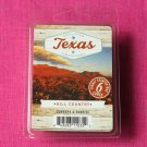 Scentsationals Hill Country Wax Melt Cubes Special Texas Edition