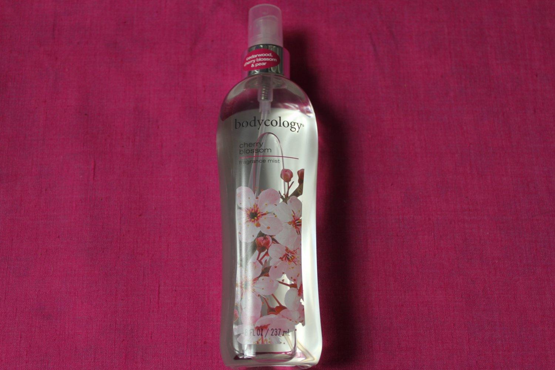 Bodycology CHERRY BLOSSOM Fragrance Mist Splash 8 oz