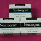 Neutrogena Transparent Facial Bar 3.5 oz, Original Formula 3 pack