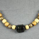 Dark in the Woods Handmade Beaded Necklace