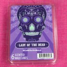 Scentsationals Lady Of The Dead Wax Melt Cubes Special Day of the Dead Edition