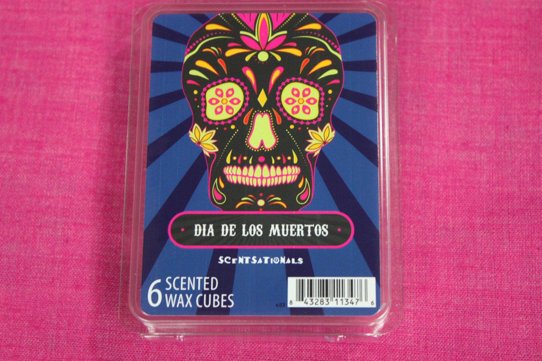 Scentsationals Dia De Los Muertos Wax Melt Cubes Special Day of the Dead Edition
