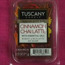 Tuscany Candle Wax Melt Cubes Cinnamon Chai Latte