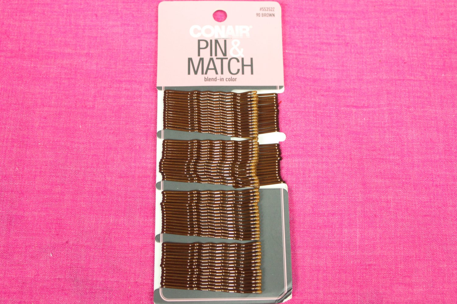 Conair Brown Pin and Match Bobby Pins