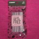 Conair Clear Metal Free Bobby Pins