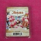 Scentsationals Magnolia Gardens Wax Melt Cubes Special Texas Edition