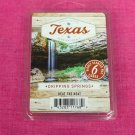 Scentsationals Dripping Springs Wax Melt Cubes Special Texas Edition