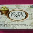 South of France French Milled Oval Bar Soap Shea Butter 6oz (170g)