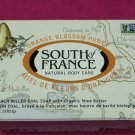 South of France French Milled Oval Bar Soap Orange Blossom Honey 6oz (170g)