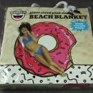 Giant Beach Blanket Towel Donut