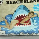 Giant Beach Blanket Towel Shark