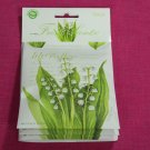 Fresh Scents Sachet Lily of the Valley  with Essential Oils Pack of 3