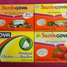 Sazon Goya Seasoning Sampler with Chicken Bouillon