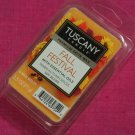 Tuscany Candle Wax Melt Cubes Fall Festival