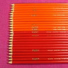 Crayola Single Color Pencils Set of 24 Oranges