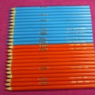 Crayola Single Color Pencils Set of 24 Sky Blue and Orange