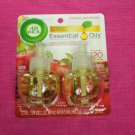 Air Wick Essential Oils Apple Cinnamon Medley Scented Oil Refill